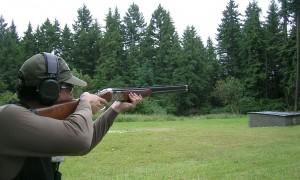 skeet-firing